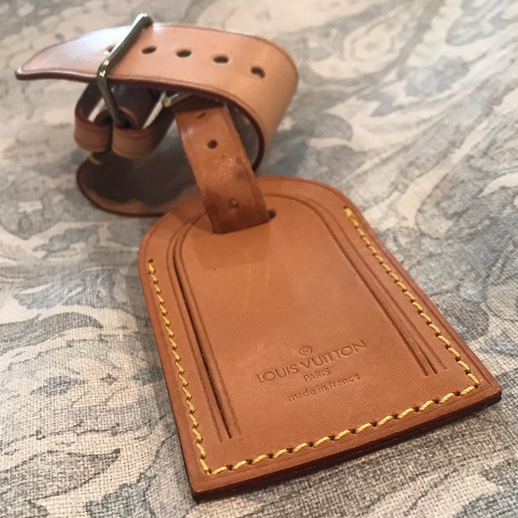 4472b629d4a3 Louis Vuitton Accessories - Vintage Louis Vuitton Luggage Tag